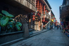 ----- Six southern town of Xitang alley Stock Image