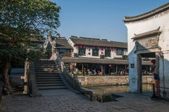 ----- Six southern town of Xitang alley Stock Photography
