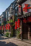----- Six southern town of Xitang alley Stock Photos