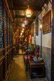 ----- Six southern town of Xitang night Royalty Free Stock Photo