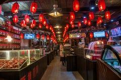 ----- Six southern town of Xitang night Royalty Free Stock Photos