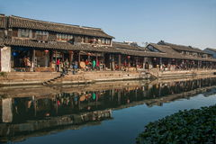 ----- Six southern town of Xitang Stock Image