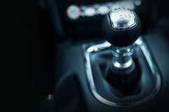 Six Speed Stick Shift Royalty Free Stock Photography