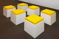Six stools Royalty Free Stock Image