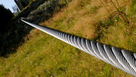 Six- strand rope ( 6-strand rope ) Stock Photo