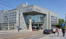 SIX Swiss Exchange building Royalty Free Stock Photos