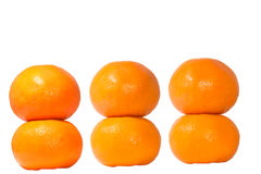 Six tangerine Stock Photo