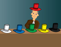Six thinking hats Royalty Free Stock Photo