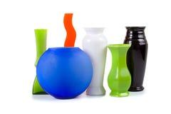 Six vases Stock Photo