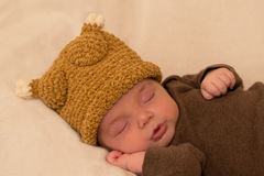 Six week old baby boy stock images