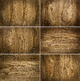 Six wooden backgrounds. Collection from six wooden backgrounds Royalty Free Stock Photography