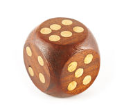Sixes on dice Stock Image