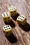 Sixes on dice Stock Photo