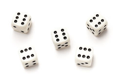 Sixes Dice - Stock Photo Stock Image