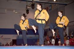 sixième championnat de Taekwondo Poomsae du monde de WTF Photo stock