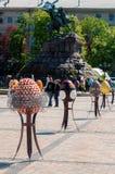 Sixième festival de Tout-Ukrainien des oeufs de pâques Photo stock