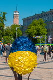 Sixième festival de Tout-Ukrainien des oeufs de pâques Photos libres de droits