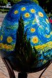 Sixième festival de Tout-Ukrainien des oeufs de pâques Images libres de droits