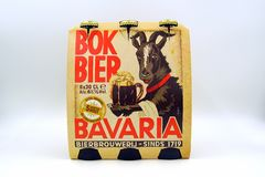 Sixpack-Bayern Bok-Totenbahre lizenzfreies stockfoto