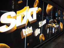 Sixt advertising Stock Photography