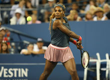 Sixteen times Grand Slam champion Serena Williams  Royalty Free Stock Photos