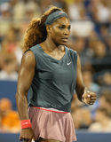 Sixteen times Grand Slam champion Serena Williams  Royalty Free Stock Photo