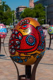 Sixth All-Ukrainian festival of Easter eggs Stock Image