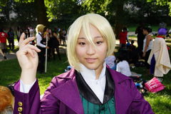 Sixth Annual International Cosplay Day Part 2 98 Royalty Free Stock Photos