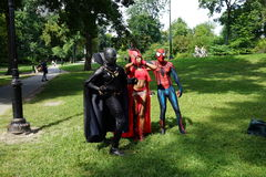 Sixth Annual International Cosplay Day 25 Royalty Free Stock Images