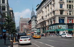 Sixth Avenue Manhattan New York City USA Royalty Free Stock Photography