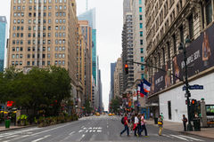 Sixth Avenue - New York City Stock Photos