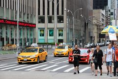 Sixth Avenue Royalty Free Stock Photo