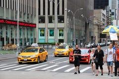 Sixth Avenue Royalty Free Stock Photo