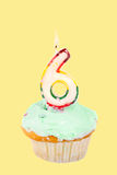 Sixth  birthday Royalty Free Stock Photo