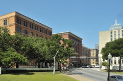 The Sixth Floor Museum at Dealey Plaza Stock Images
