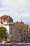 Sixth and I Historic synagogue in Chinatown neighborhood, Washington DC. Royalty Free Stock Photography
