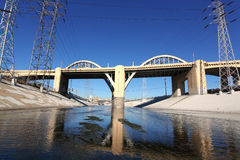 Sixth Street Viaduct Stock Photography