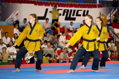 Sixth WTF World Taekwondo Poomsae Championship Stock Photo