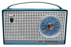 Sixties radio Stock Photography
