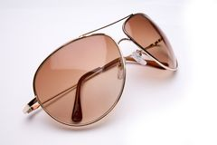 Sixties style sunglasses. Stock Photos