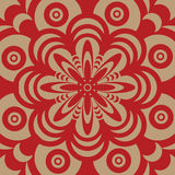 Sixties wallpaper design Stock Photography