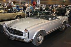 SixtiesMercedes Coupe Arkivbild
