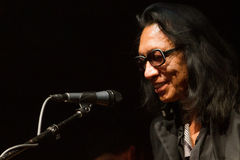 Sixto Rodriguez @ Highline Ballroom 8/31/12 NY Stock Photo