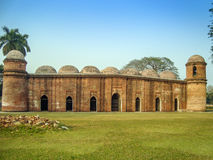 Sixty Dome Mosque-Bagerhat-Bangladesh Royalty Free Stock Image