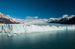 Sixty meters tall of ice in Perito Moreno Glacier, Argentina Stock Images