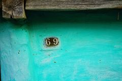 Sixty nine house number stock images