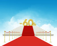 Sixty percent discount Stock Photo