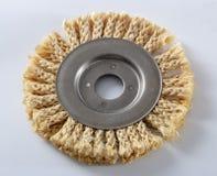 Sizalu okrąg dla kąta ostrzarza, używać dla polerowniczego drewna i metali obrazy stock