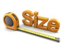 Size measure Royalty Free Stock Photos