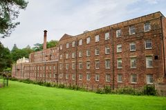 Size of the mill. Quarry bank mill wilmslow Cheshire England united kingdom stock images